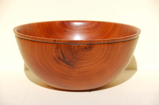 Florida Mahogany Salad Bowl